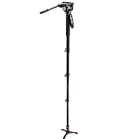 Manfrotto Monopod Video m/hode