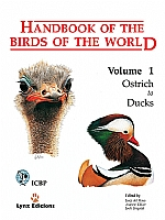 Handbook of the Birds of the World, vol. 1.