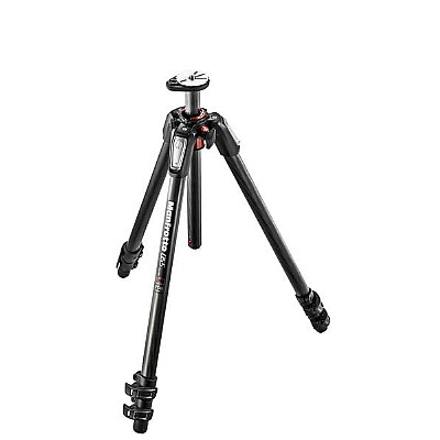 Manfrotto Stativkit 055 Carbon 3-section Tripod m/treveishode