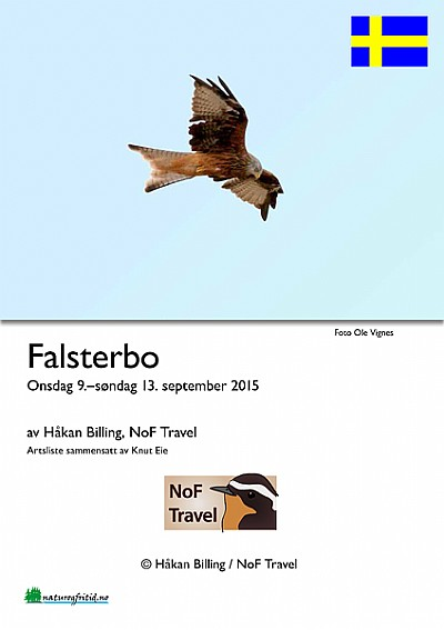 NoF Travel turrapport - Falsterbo 2015