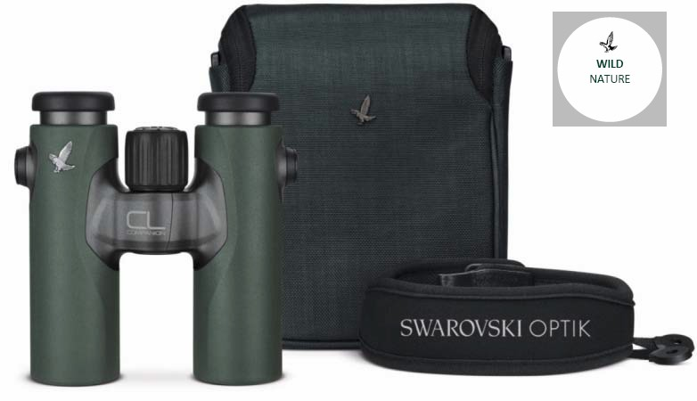 Swarovski CL 10x30 B Companion Wild Nature Grønn, Takkant kikkert
