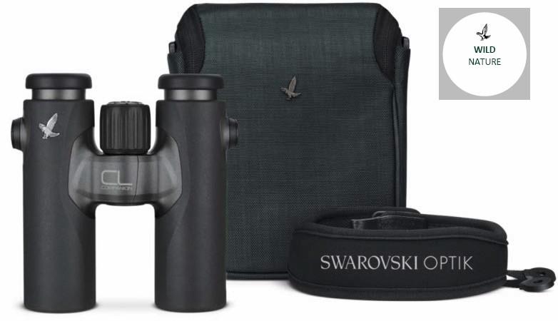 Swarovski CL 10x30 B Companion Wild Nature Antrasittgrå, Takkant kikkert