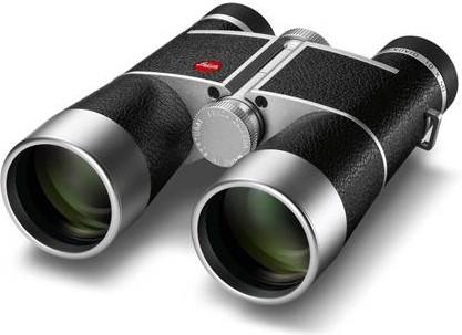 Leica Trinovid 10x40 Sølv, svart skinn Takkant kikkert