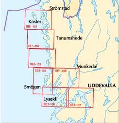 kart over lysekil Sjøkart   Båtsportkart fra Norge fra Statens kartverk hos Natur og  kart over lysekil