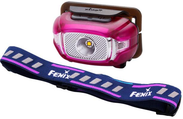 Fenix Hodelykt HL15 LED Lilla