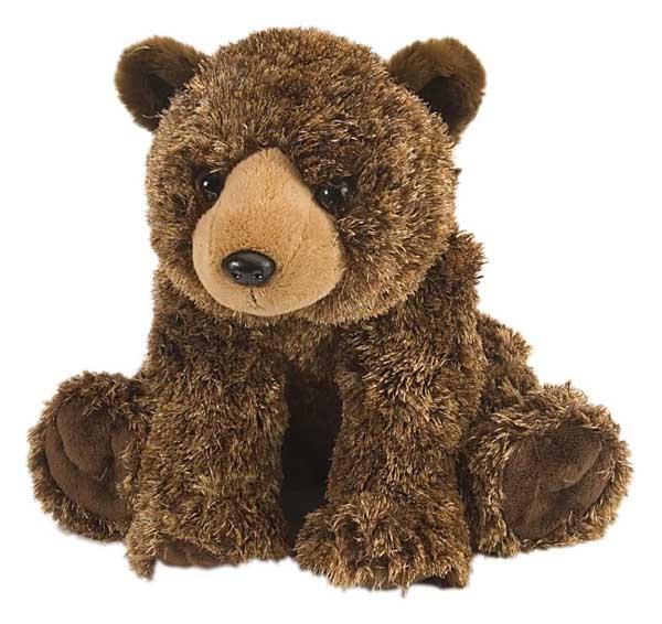 Brunbjørn kosedyr i plysj