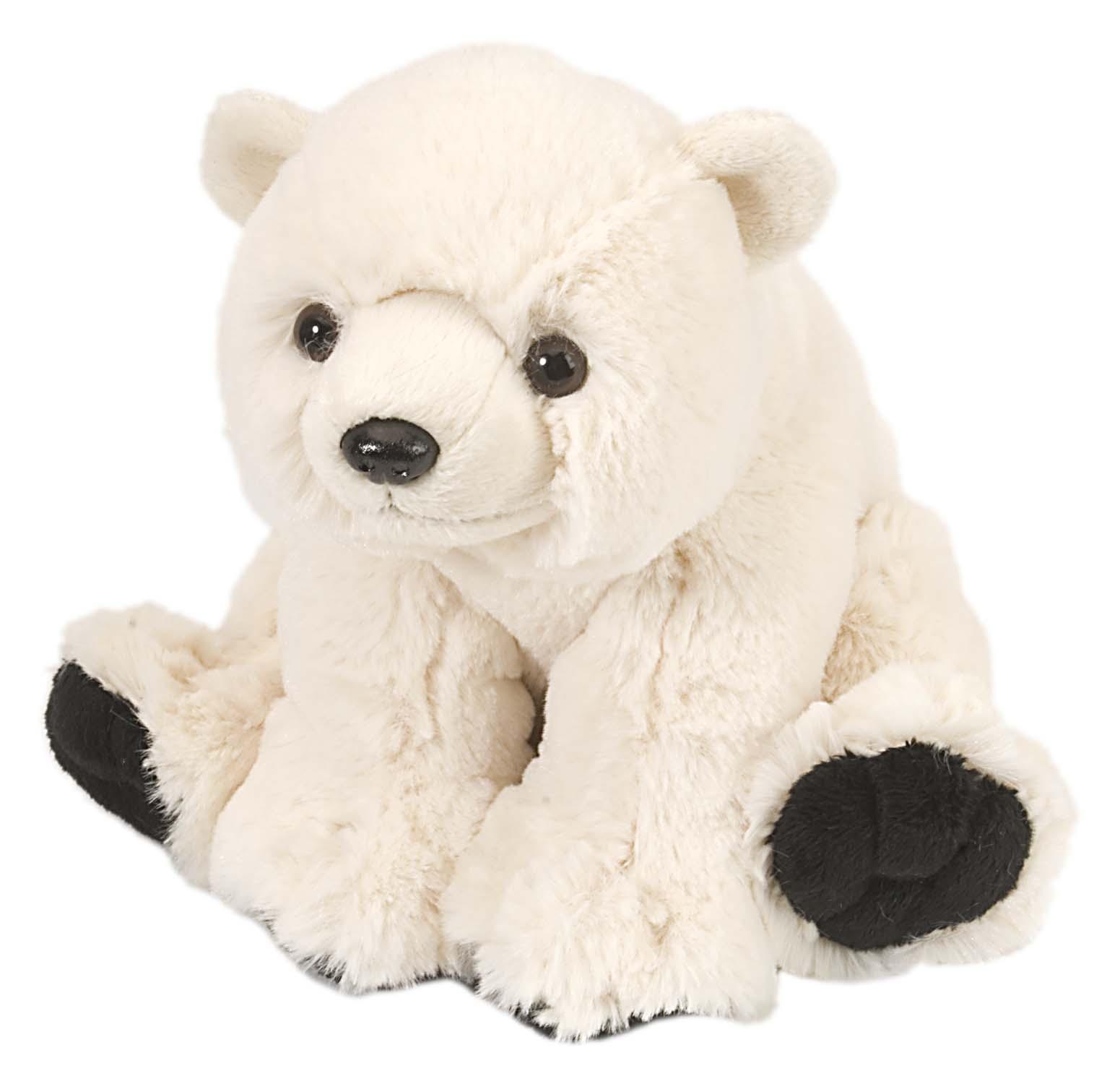 Isbjørn Mini kosedyr i plysj