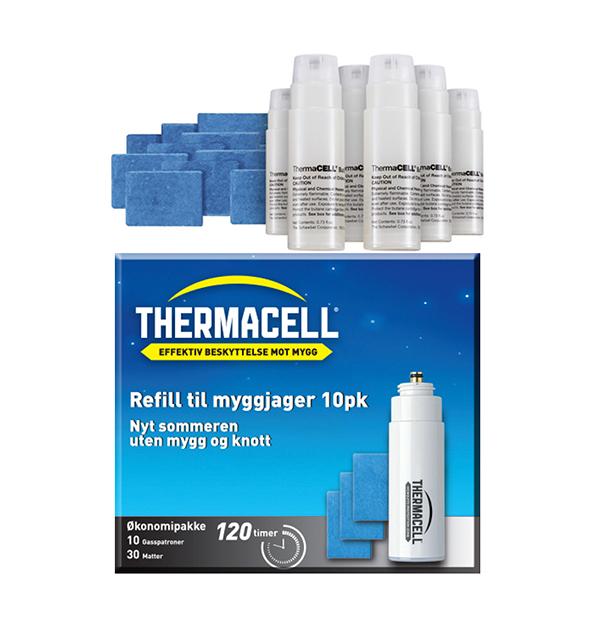 Thermacell Insektjager R10 Refill Mygg- og knottfjerner