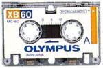 Olympus Pearlcorder mikrokassetter