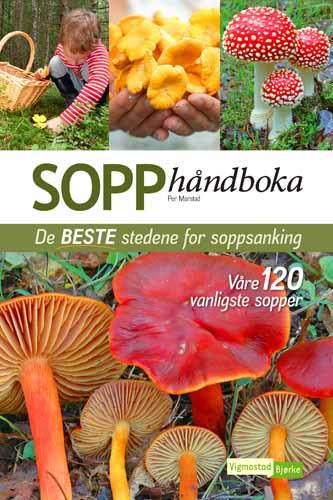 SOPP - håndboka De BESTE stedene for soppsanking - Våre 120 vanligste sopper