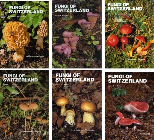 Fungi of Switzerland vol.1-6 set