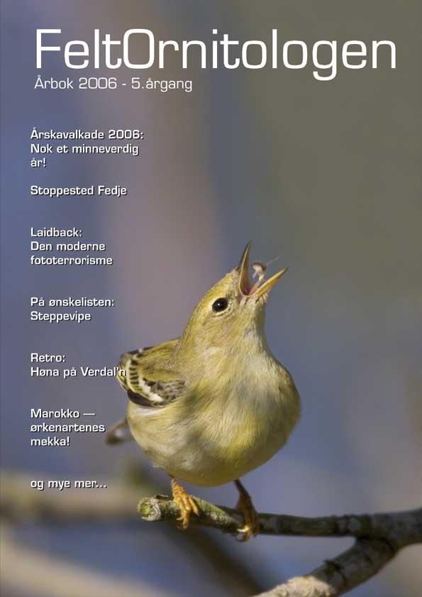 Forside Feltornitologen 2006