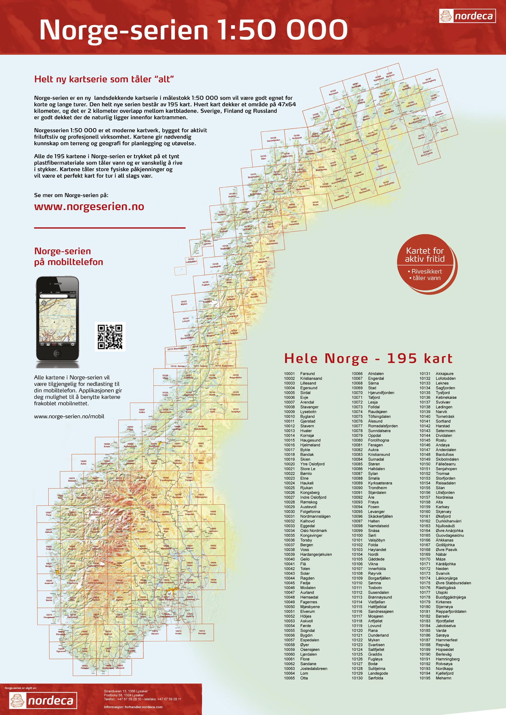 kart norge 1 50000 1:50 000 kart i Norge serien fra Natur og Fritid as kart norge 1 50000