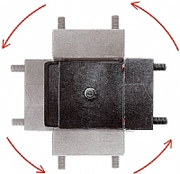 Manfrotto plate for kikkert 200USS