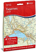 Fagernes 1:50 000