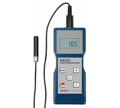 REED CM-8822 Coating Thickness Gauge, 0-1000µm/0-40mils