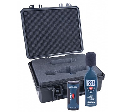 REED R8050-KIT Sound Level Meter and Calibrator